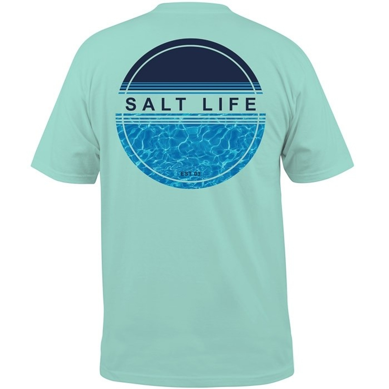 0cf3b39d25d Salt Life Calm Waters Aruba Blue - Girls Round Here