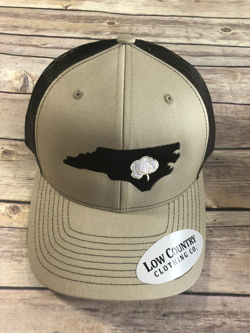 Low Country Clothing NC Cotton State Khaki/ Brown Hat