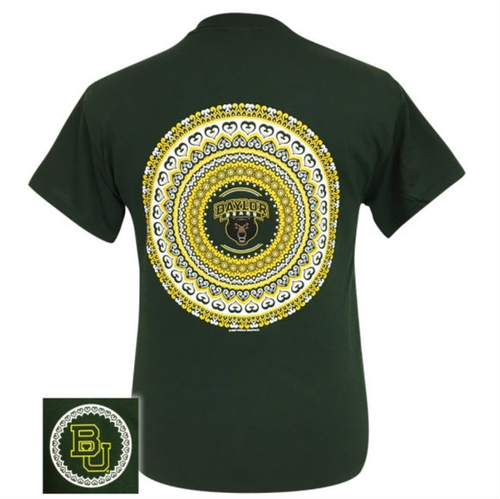 Baylor Mandala Forest Green