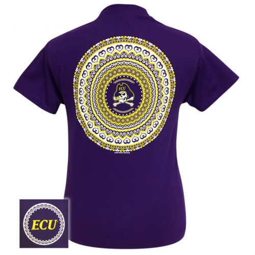 East Carolina Mandala Purple