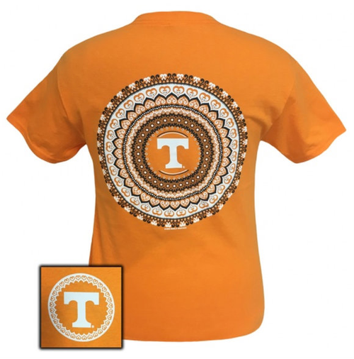 Tennessee Mandala Orange