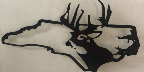 North Carolina Deer Decal