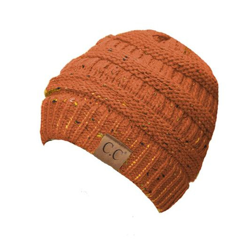 C.C. Speckled Beanie Rust