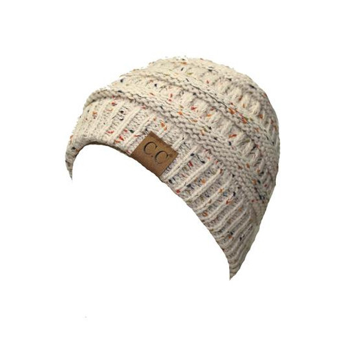 C.C. Speckled Beanie Oatmeal