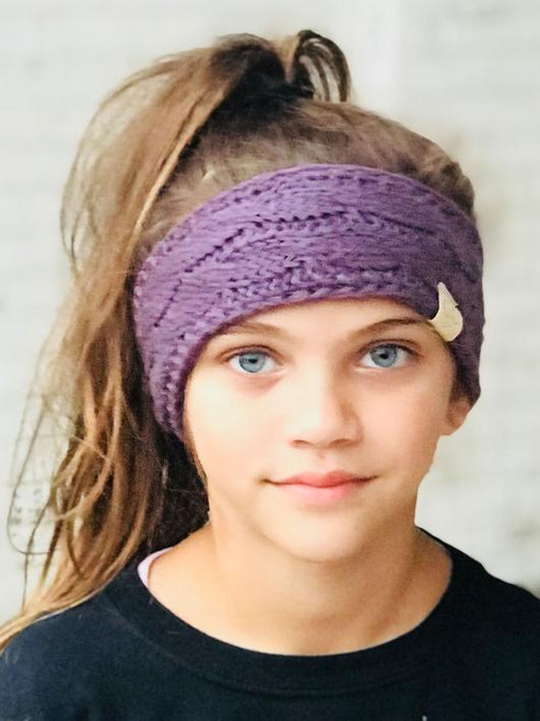 C.C. Youth Headwrap Violet