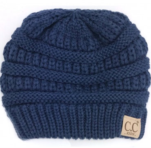C.C Dark Denim Youth Beanie