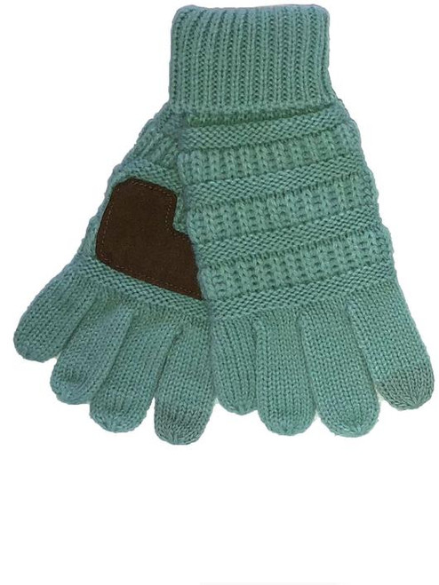 C.C. Brand Mint Gloves Youth