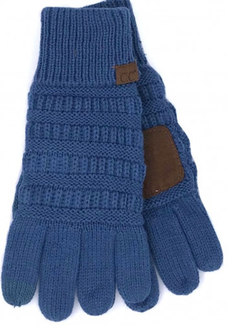 C.C Dark Denim Gloves