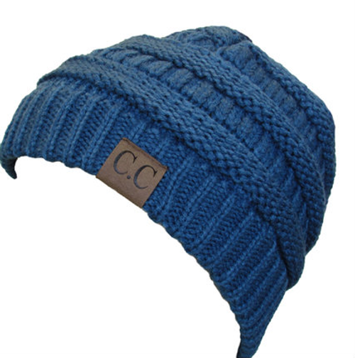C.C Beanie Dark Denim