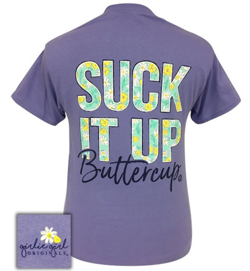 Southern Couture Comfort Pucker Up Buttercup Comfort Colors T-Shirt