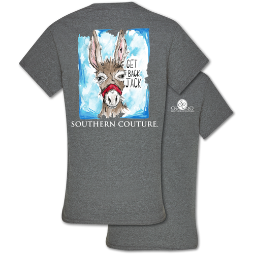 Southern Couture Get Back Jack Graphite Heather