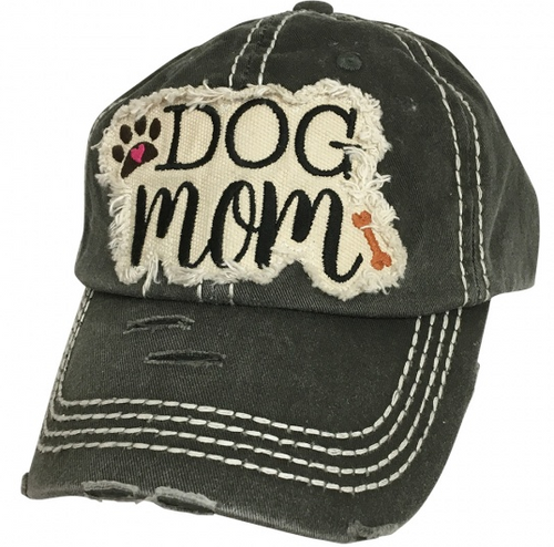 Girlie Girl Originals Dog Mom Black Hat