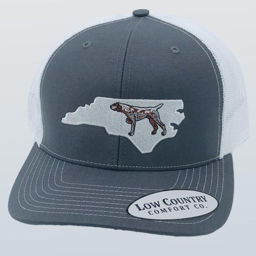 Low Country Pointer NC Charcoal/White Hat