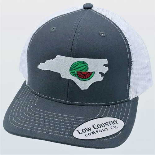 Low Country NC Watermelon Charcoal/White Hat
