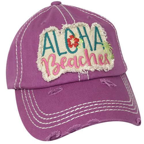 Girlie Girl Originals Aloha Beaches Lavender Hat