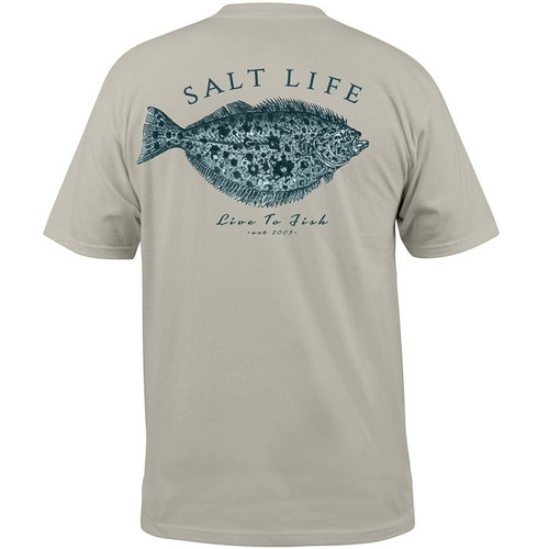 Salt Life Fish For Life Stone