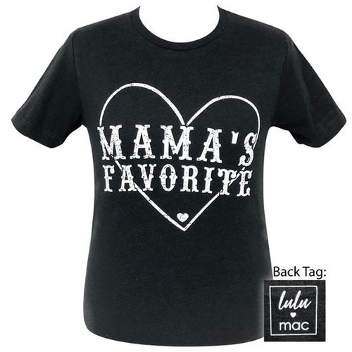 Lulu Mac Mama's Favorite Black Heather