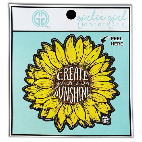 Girlie Girl Originals Create Your Own Sunshine Decal