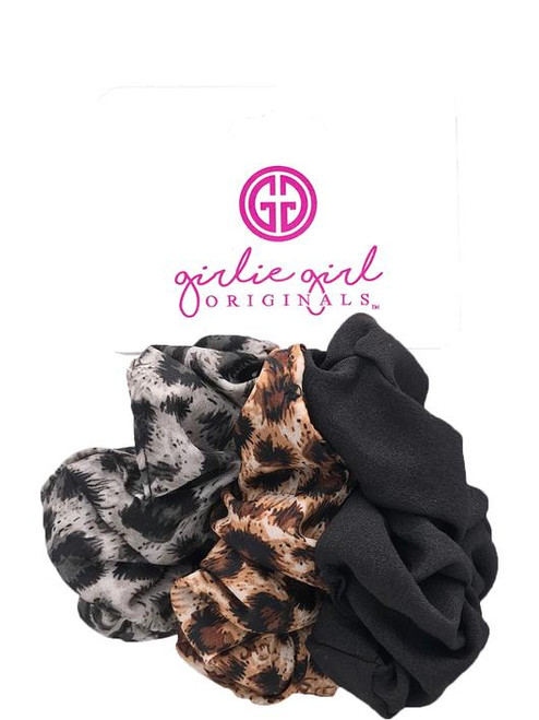 Girlie Girl Originals Leopard Assorted Scrunchies