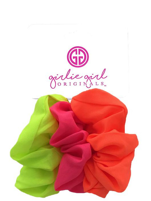 Girlie Girl Originals Assorted Scrunchies Neon