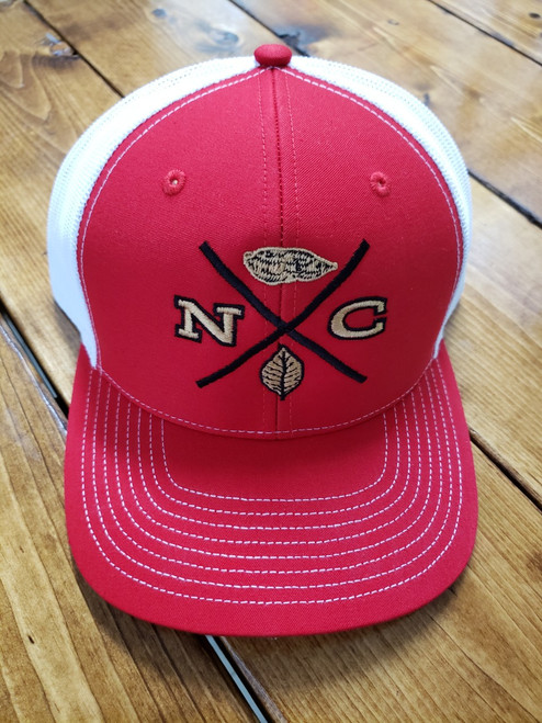 Crossroads Clothing NC X-Mark Red/White Hat