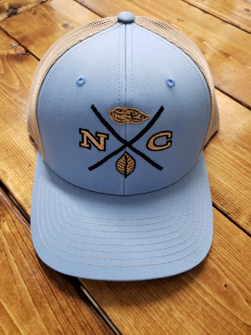 Crossroads Clothing NC X-Mark Blue/Khaki Hat