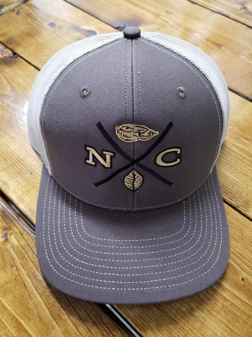 Crossroads Clothing NC X-Mark Brown/Khaki Hat