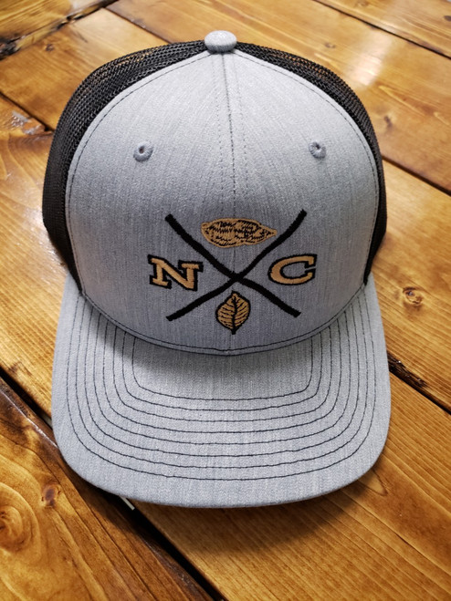 Crossroads Clothing NC X-Mark Grey/Black Hat