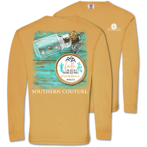 Southern Couture Size Of A Mustard Seed Mustard LS