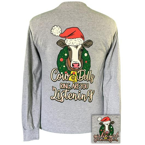 Girlie Girl Originals Cowbells Ring Sport Grey-LS