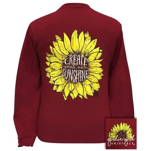 Girlie Girl Originals Create Your Own Sunshine Garnet LS