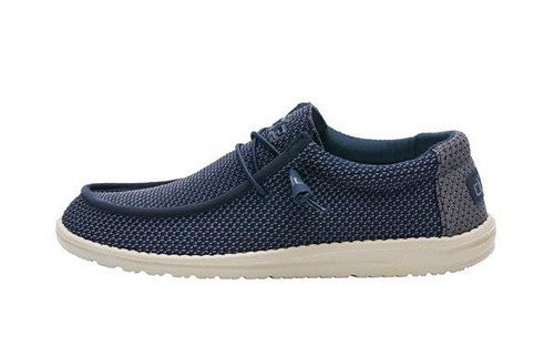 Hey Dude Wally Sox Navy Shoe