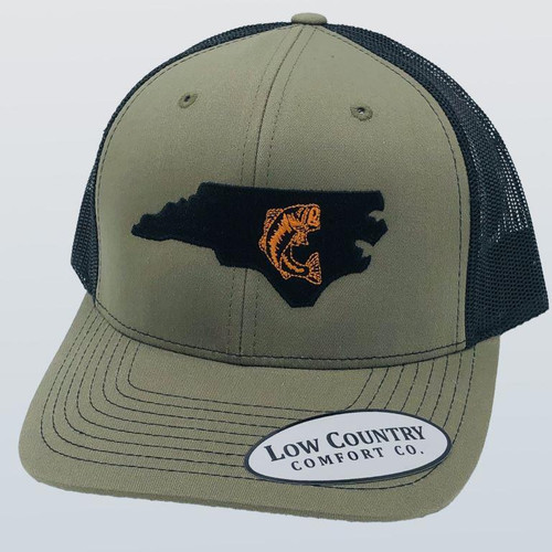 Low Country NC Bass Loden/Black Hat