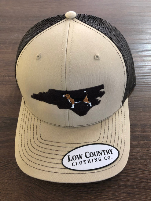 Low  Country NC Beagle Khaki/Brown Hat