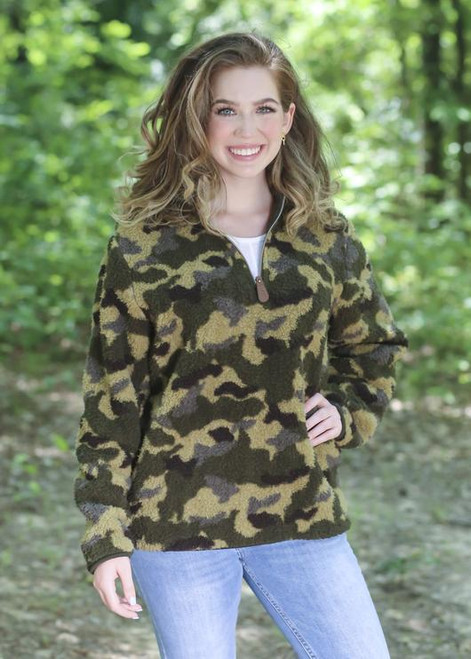 Girlie Girl Originals Camo Sherpa