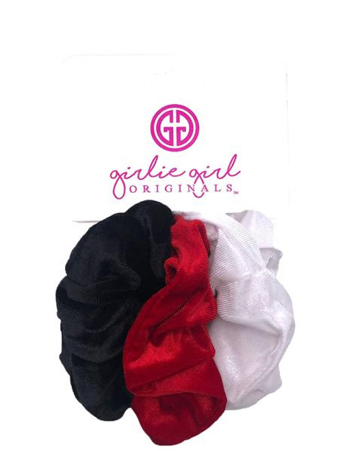 Girlie Girl Originals Red Velvet Scrunchies