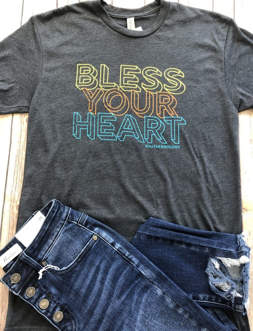 Southernology Bless Your Heart Retro Statement Tee