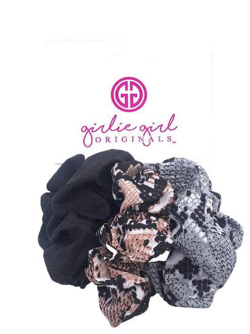 Girlie Girl Originals Snakeskin Assorted Scrunchies