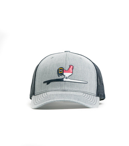 Beach & Barn State of Mind Snapback Heather Grey/Navy Hat