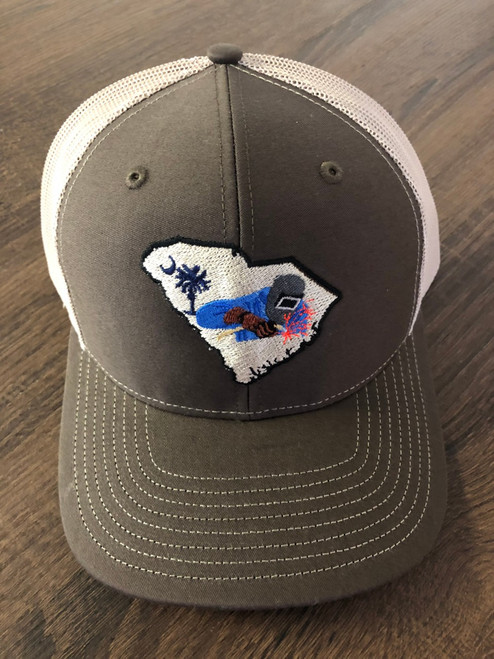 Crossroads Clothing South Carolina Welding Brown/Khaki Hat