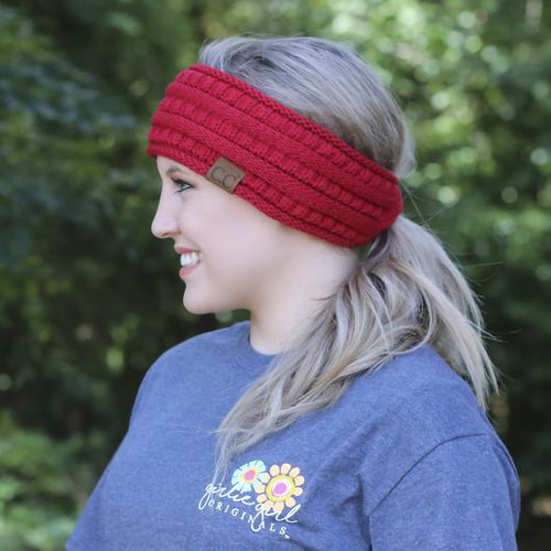C.C Red Pony Headwrap