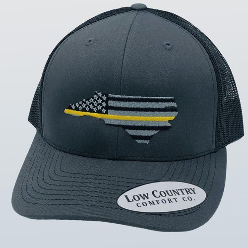 Low Country Clothing NC Thin Gold Line Hat
