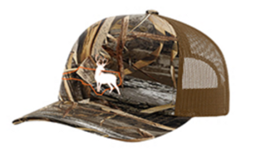 It's All About The South NC Outline Buck Camo Hat