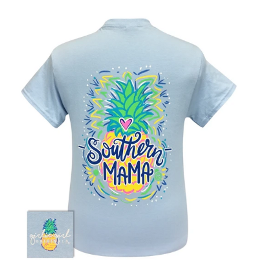 Girlie Girl Originals Southern Mama-Light Blue