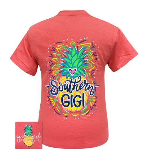 Girlie Girl Originals Southern GIGI-Coral Silk