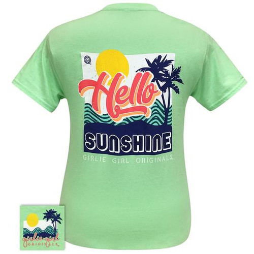 Girlie Girl Originals Hello Sunshine Mint Green