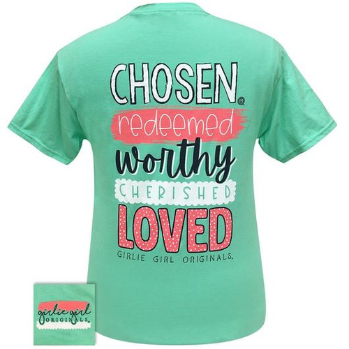 Girlie Girl Originals Chosen Redeemed Cool Mint