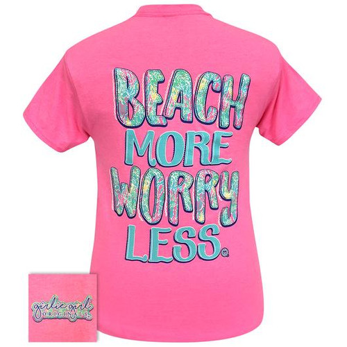 Girlie Girl Originals Beach More Safety Pink