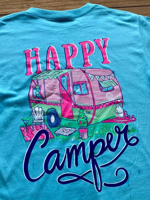 Girlie Girl Originals Happy Camper Sky Blue