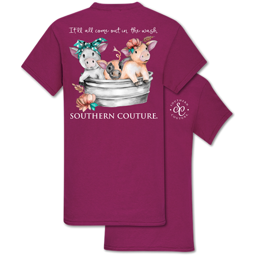 Southern Couture Come Out In Wash Berry